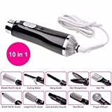 New Easy to ues Professional 10-in-1 Hair Blow Dryer Hairdryer...