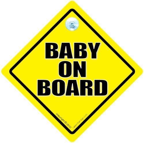 Grandchild On Board Car Safety Warning Sign