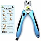 Image of Pro Pet Works Dog Nail Clippers Trimmers With Nail File For Grooming Pets-Quick Guard Sensor Inc-The Best Dog Nail Trimmer for Small Medium and Large Breeds