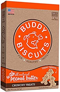 product image for Cloud Star Itty Bitty Buddy Biscuits Dog Treats, 8oz Box, Peanut Butter