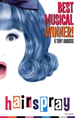 Hairspray Poster Broadway Theater Play MasterPoster Print