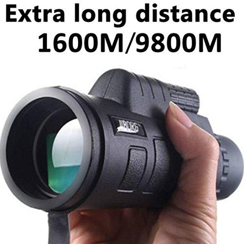 (UMFun PANDA Day Vision 40x60 HD Optical Monocular Hunting Camping Hiking Telescope)