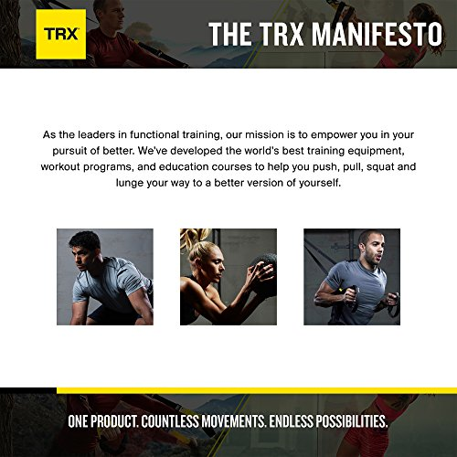 TRX Training - All Body Flexibility Poster, 12 Easy, Total Body Stretches, Clearly Illustrated on a Tear Proof Poster