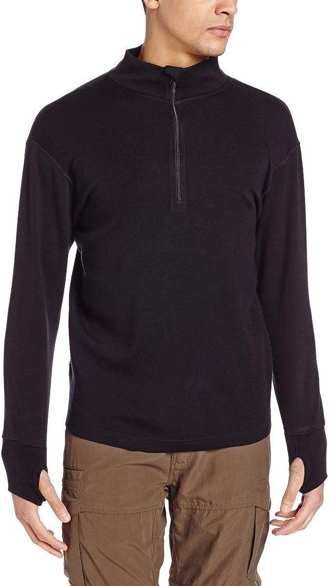 Minus33 Merino Wool 723 Kobuk Men's Expedition Weight ¼ Zip – Anti Odor No Itch Renewable Fabric