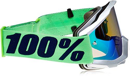 100% Accuri-Nova Masque de Vtt Mixte Vert