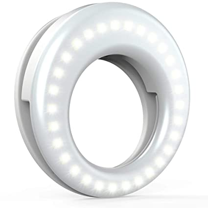 Sasta Bazar Selfie Ring Light For Mobile | Tik tok Light Ring | Camara  Light | Rechargeable | Video Shooting Flash | All Device Supported With 3