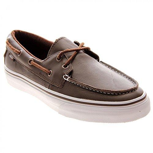 Vans - Zapatillas de cuero para mujer Walnut