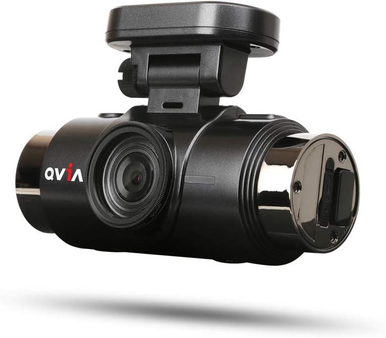 WiFi /& 64GB microSD Card QVIA QR790S Duo Quad HD 2560 x 1440p 30fps 2 Channel Car Dash Camera with GPS ADAS