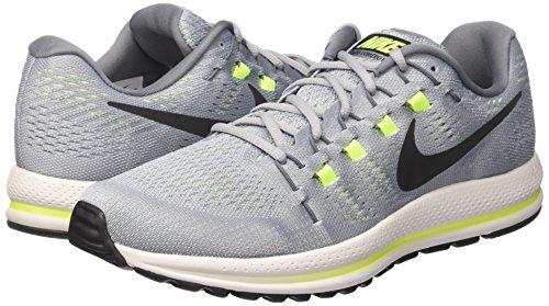 Platinum Grey Zoom Black pure Nike Zapatillas Vomero de Running Multicolor Hombre Air Grey cool Wolf 12 CZRgnBUwx