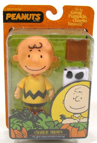It's the Great Pumpkin Charlie Brown Poseable Figurine (Charlie Brown Ghost Costume)