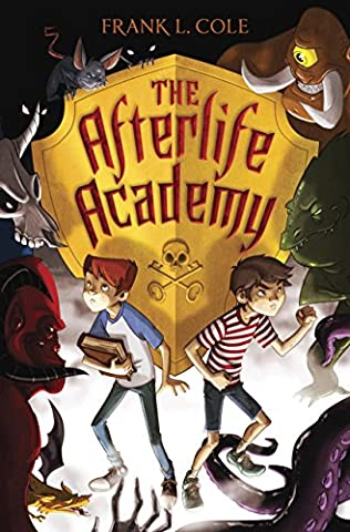 book cover of The Afterlife Academy