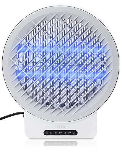 Bug Zapper, Electric Insect Fly Traps, Mosquito Zappers, Mosquito Killer for Patio with Timing Function (Grey)
