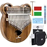AKLOT Kalimba 17 Keys Thumb Piano Finger Piano Professional African Instrument Solid Wood with Protective Case Online…