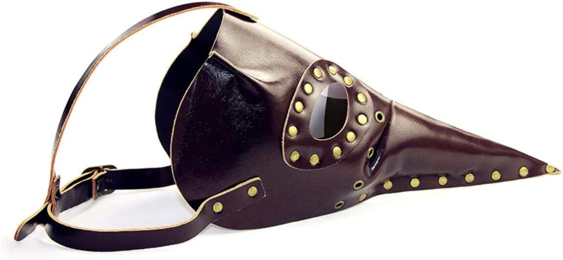 QZH Halloween Peste Largo pájaro Boca Doctor máscara Prom Fiesta Fiestas Suministros máscaras de Halloween, Juego de rol, Peste médico
