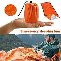 Thermal Waterproof Emergency Sleeping Bag for Outdoor Survival Hiking Camping