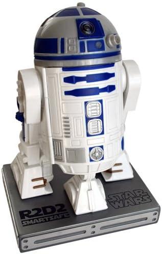 Wiki- Star Wars - Caja fuerte R2-D2 para iPhone o Android, Color blanco/azul (STAR184): Amazon.es: Juguetes y juegos
