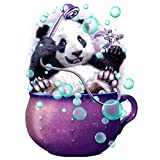 Bangle009 Clearance Sale Panda Bubbles Resin Diamond Embroidery Painting Cross Stitch DIY Home Decor