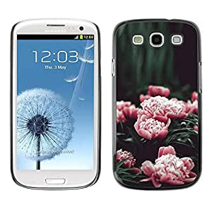 Hard Protector Case Cover Slim Back Shell for Samsung Galaxy S3 I9300 /Pink Flowers Garden Blossoming/ STRONG
