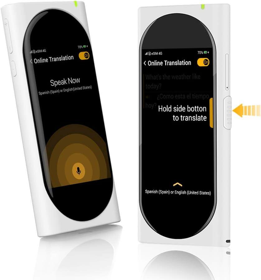 Amazon Com Langogo Genesis 2 In 1 Ai Translator Device And Voice