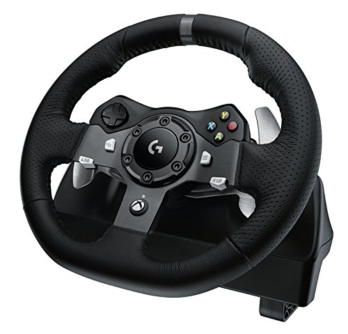 516Ct8msW%2BL - Logitech G920 Dual-motor Feedback Driving Force Racing Wheel with Responsive Pedals for Xbox One