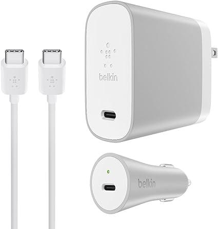 Amazon.com: Belkin cargador de pared para USB-C dispositivos ...