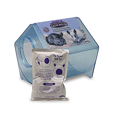 Interpet Limited Superpet Chinchilla Bath House (Assorted Colors)