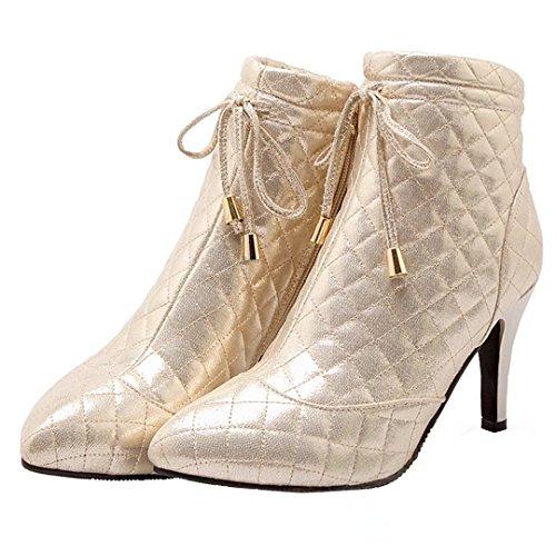 AIYOUMEI Boot Women's Classic Classic Boot Gold AIYOUMEI Gold Women's AIYOUMEI rf6rx