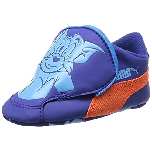 97df3a47fc554 Puma CRIB PACK TOM ET JERRY 2 Chaussures Mode Sneakers Bebe Bleu PUMA