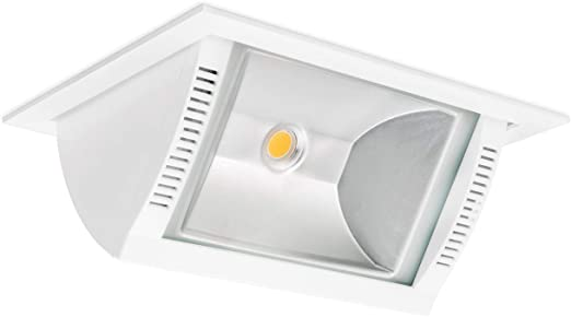 Volton - Foco LED empotrable y basculante, Ideal para Tiendas y comercios, Gran Potencia, 35W, 3850Lm, 4000K: Amazon.es: Hogar