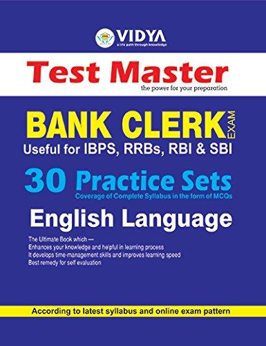 Read Online IBPS Bank Clerk 30 Practice Sets (English Language) pdf epub