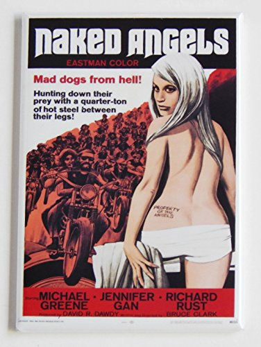 Naked Angels Movie Poster Fridge Magnet