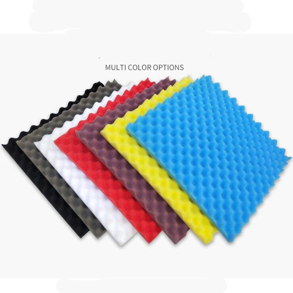 Soundproofing Foam 12pcs /—30x30x3cm High Quality Studio Soundproof Foam Panels Better Sound For Home Recording Studios Recordings Youtube Users Podcasts