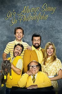 Custom Poster Nice Bedroom Decor It's Always Sunny In Philadelphia Fashion Well Design Wallpaper 50x76cm
