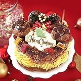 クリスマスケーキ 2019 Xmas チョコレートケーキ クリスマスケーキ4.5号 【プレート付】お取り寄せ 人気 ケーキ スイーツ