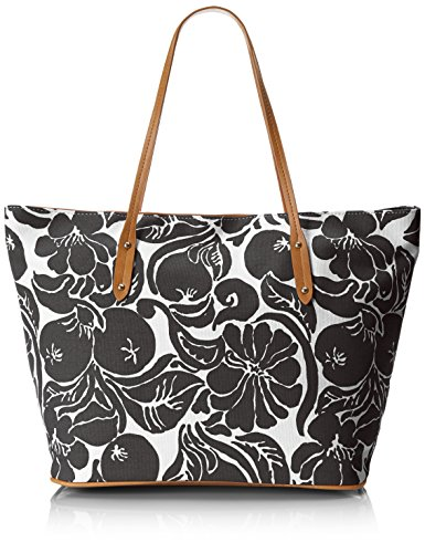 emilie-m-freda-printed-canvas-tote-black-one-size