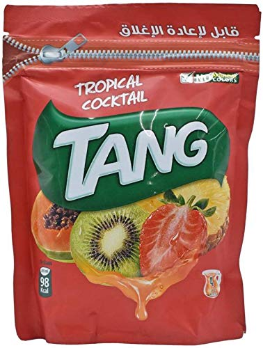 Tang Tropical Drink Powder Resealable Pouch 500gm