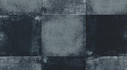 Vinylfliese Gerflor selbstklebende Vinyl-Fliesen Klebefliese Design Square Dark 0630 Vinyl Fu/ßbodenbelag 5m/² pro Paket Vinylboden