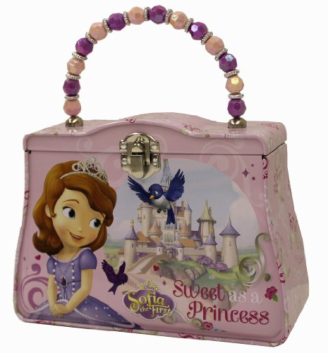 [The Tin Box Company 620107-12 Sofia The First Carry All Tin Purse] (All Costumes For Girls)