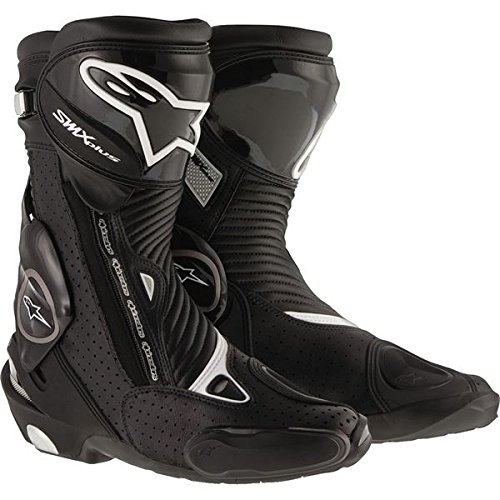 Alpinestars Mens SMX Plus Vented Boot (Black, EU 46) Smx Plus Vented Racing Boots