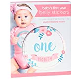 Best C.R. Gibson Gifts For Newborns - C.R. Gibson First Year Belly Stickers Milestone Month Review