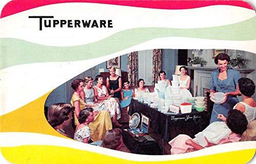 Tupperware Party Advertising Vintage Postcard JC932162
