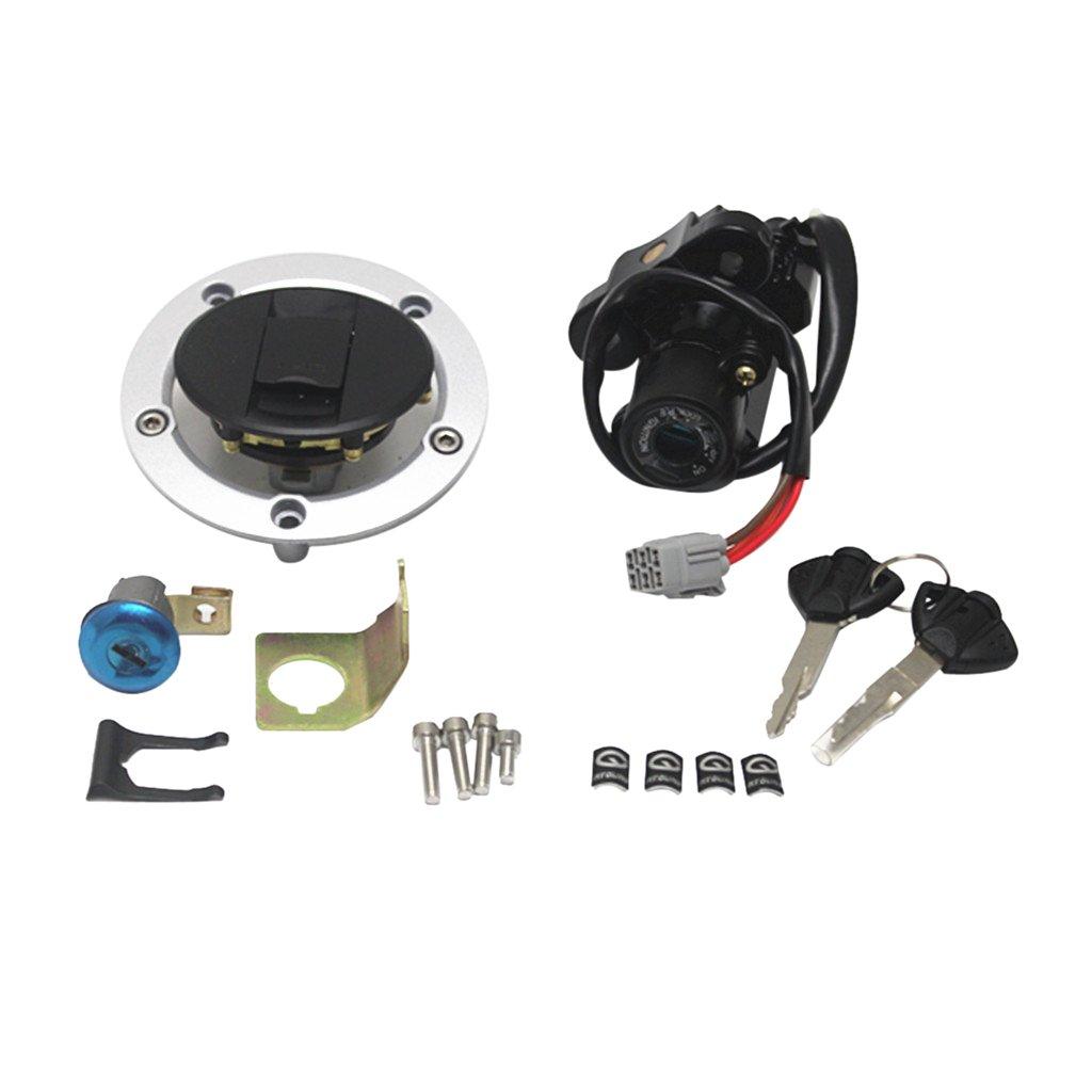 monkeyjack修正オートバイの燃料タンクキャップ燃料タンクカバーGSXR 600 / 750 06 – 161000 B07541Y5KM