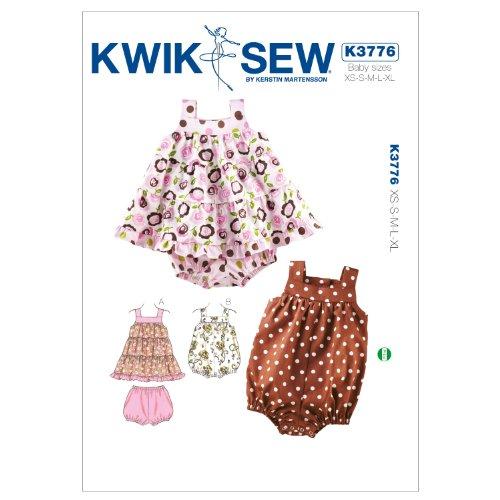 Mccall Pattern Kwik Sew K3776 Dress Sewing Pattern, Bloom...