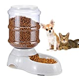 Pet Automatic Feeder - Automatic Pet Feeder for Dogs Cats and Other Small Animals Bucket Feeder 1gal Large-capacity Pet Feeder Automatically Control the Amount of Food