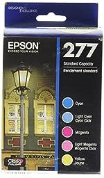 Epson T277920 Epson Claria Photo HD 277 Standard-capacity Color Multi-pack - Cyan, Magenta, Yellow, Light Cyan, Light Magenta (T277920) Ink