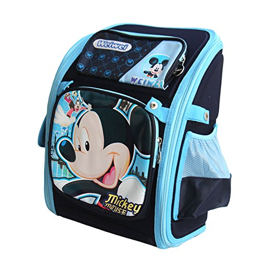 Cute Cartoon Baby Boys Toddler Backpack for School with Mickey Mouse