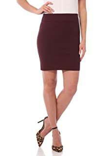 a01c05414d Rekucci Women's Ease in to Comfort Stretchable Above The Knee Pencil Skirt  ...