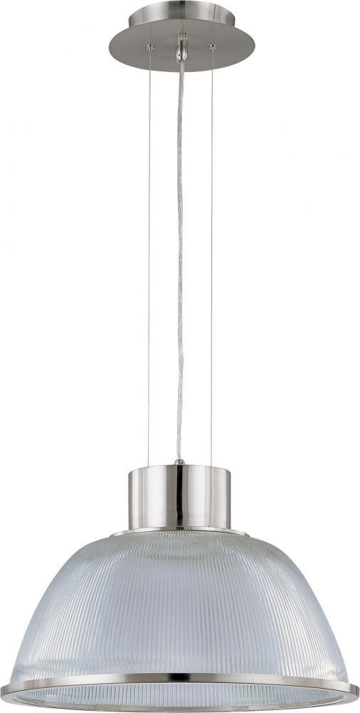 Nuvo Lighting 60//2923 One Light Pendant Pwt Nckl Slvr. B//S