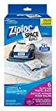 Ziploc Ziploc brand bags space bag travel bags 6ct 6 count