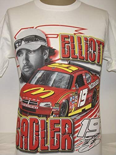 New Chase Racing Elliott Sadler T-Shirt Size L ()